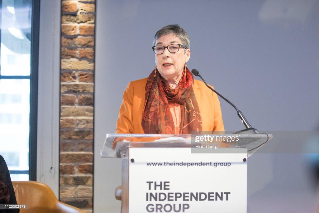 Ann Coffey, U.K. lawmaker, spe...