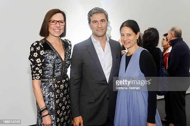 Ann Colgin Michael Govan and Katherine Ross attend LACMA's 2013 Collectors Committee Viewing Of Proposed Acquisitions And Curatorial Presentations at...