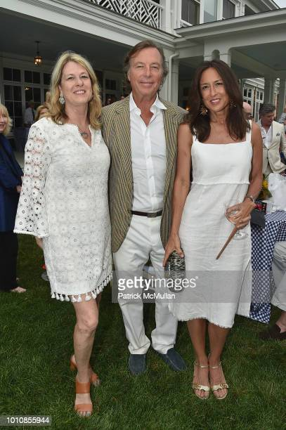 Ann Colley Bruce Colley and Teresa Colley attend the RitaHayworthGala Hamptons Kickoff Event hosted by Alzheimer's Associationat Private Residence...