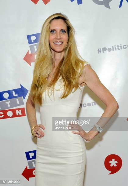 Ann Coulter at Politicon at Pasadena Convention Center on July 29 2017 in Pasadena California