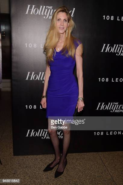 Ann Coulter attends The Hollywood Reporter's Most Powerful People In Media 2018 at The Pool on April 12 2018 in New York City
