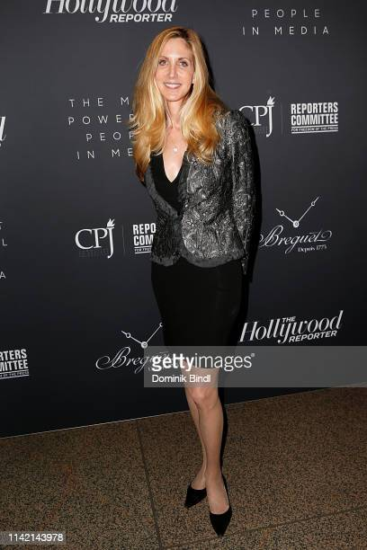 Ann Coulter attends the The Hollywood Reporter's 9th Annual Most Powerful People In Media at The Pool on April 11 2019 in New York City