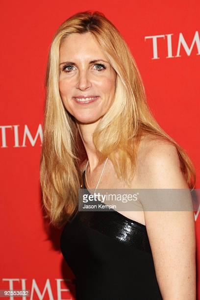 Ann Coulter attends Time's 100 Most Influential People in the World Gala at the Frederick P Rose Hall at Jazz at Lincoln Center on May 5 2009 in New...
