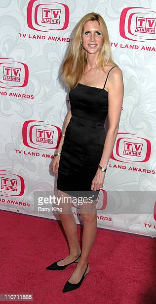 Ann Coulter during 5th Annual TV Land Awards Arrivals at Barker Hanger in Santa Monica CA United States