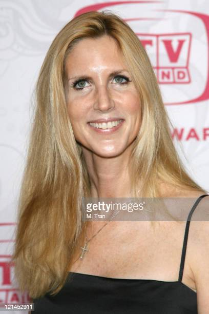 Ann Coulter during 5th Annual TV Land Awards Arrivals at Barker Hangar in Santa Monica California United States