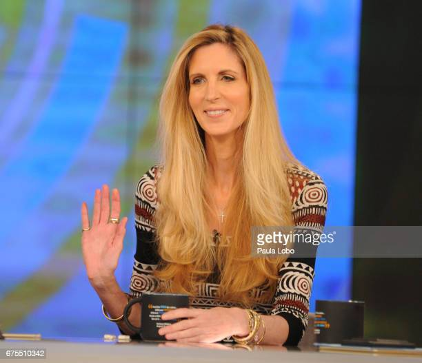 THE VIEW Ann Coulter is the guest Monday May 1 2017 on Walt Disney Television via Getty Images's The View The View airs MondayFriday on the Walt...