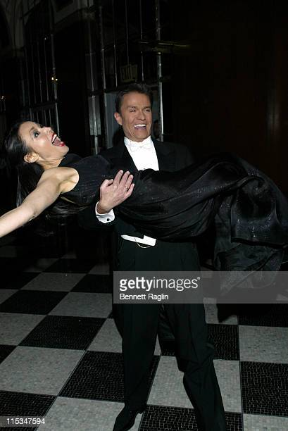 Ann Curry and Alfons Haider during Viennese Opera Ball January 27 2006 at Waldorf Astoria in New York City New York United States