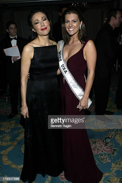 Ann Curry and Chelsea Cooley during Viennese Opera Ball January 27 2006 at Waldorf Astoria in New York City New York United States