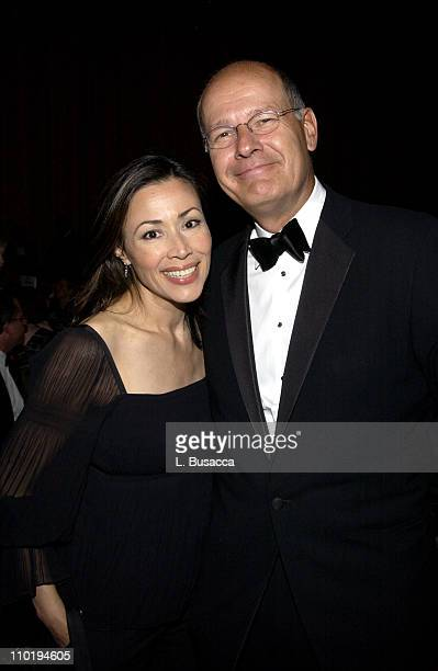 Ann Curry and Harry Smith during American Women in Radio Television 29th Annual Gracie Allen Awards Inside at Hilton Hotel in New York City New York...