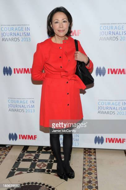 Ann Curry attend the International Women's Media Foundation's 2013 Courage In Journalism And Lifetime Achievement Awards at Cipriani 42nd Street on...