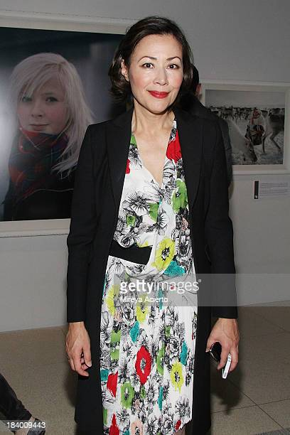 Ann Curry attends National Geographic 'Women Of Vision' exhibition and discussion at National Geographic Museum on October 10 2013 in Washington DC