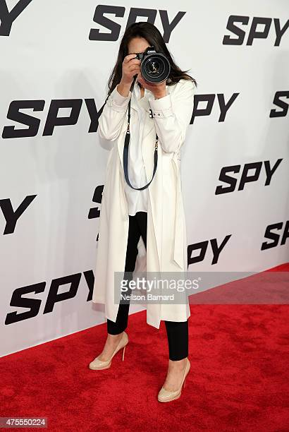 Ann Curry attends the New York premiere 'Spy' at AMC Loews Lincoln Square on June 1 2015 in New York City