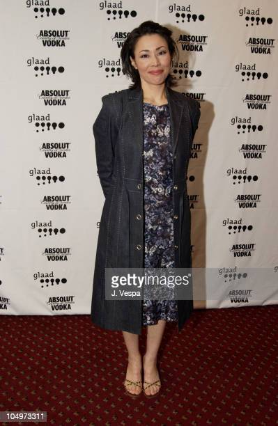 Ann Curry during 13th Annual GLAAD Media Awards New York Backstage at Marriott Marquis in New York City New York United States
