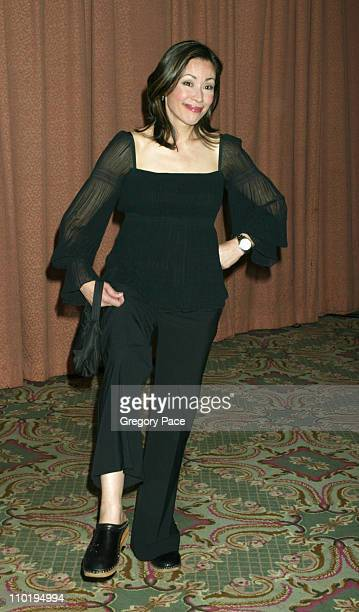 Ann Curry during American Women in Radio Television 29th Annual Gracie Allen Awards Arrivals at New York Hilton Hotel in New York City New York...