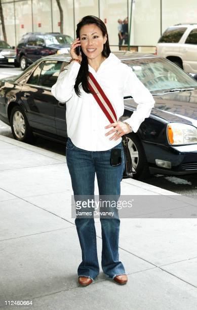 Ann Curry during Ann Curry Sighting August 12 2005 at Rockafeller Center in New York City New York United States
