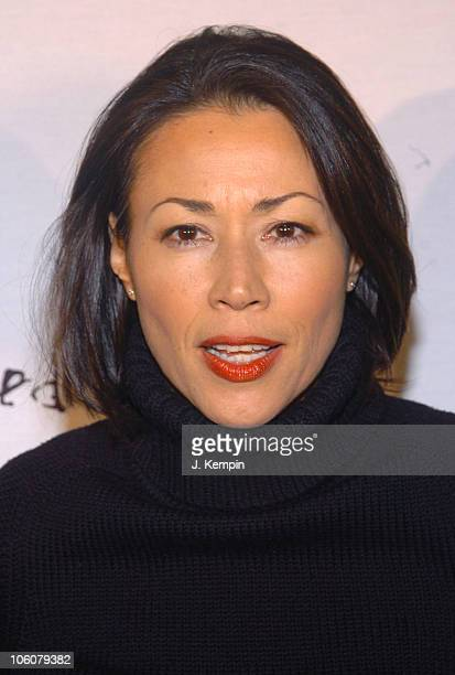 Ann Curry during 'Dressed To Kilt' Fashion Show And Charity Event April 3 2006 at St John The Divine Cathedral Garden in New York City New York...