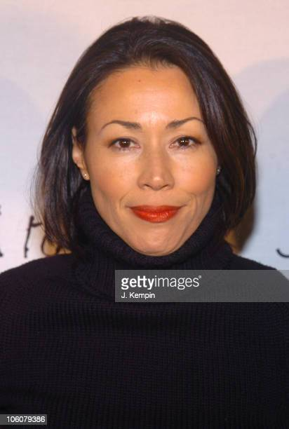 Ann Curry during Dressed To Kilt Fashion Show And Charity Event April 3 2006 at St John The Divine Cathedral Garden in New York City New York United...