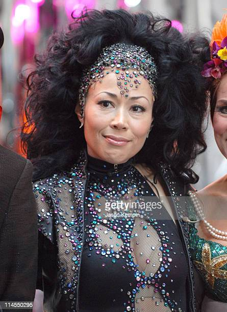 Ann Curry during Halloween on the Set of 'The Today Show' October 31 2006 at Rockefeller Center in New York City New York United States