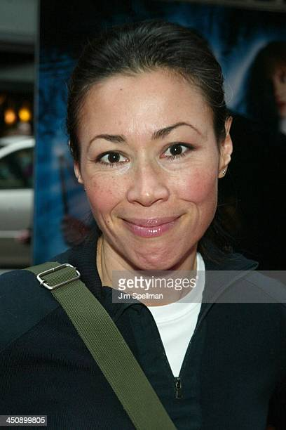 Ann Curry during Harry Potter and the Chamber of Secrets New York Premiere Arrivals at The Ziegfeld Theatre in New York City New York United States