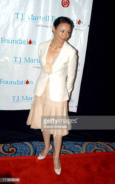 Ann Curry during TJ Martell Foundation 30th Anniversary Gala at Marriott Marquis in New York City NY United States