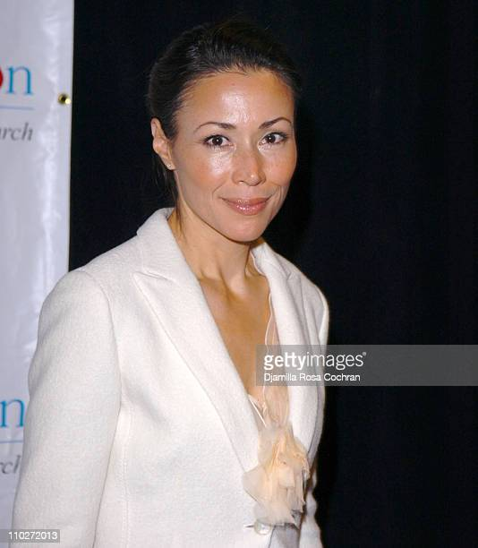 Ann Curry during TJ Martell Foundation October 6 2005 at Marriott Marquis in New York City New York United States