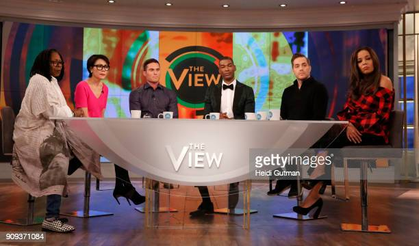 THE VIEW Ann Curry is the guest cohost today Tuesday January 23 2018 on Walt Disney Television via Getty Images's The View The View airs MondayFriday...
