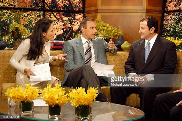 Ann Curry Matt Lauer and Brad Duke Powerball Winner on 'Today'