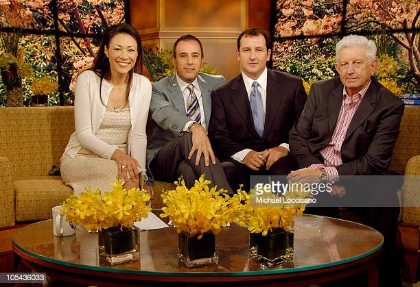 Ann Curry Matt Lauer Brad Duke Powerball Winner and his father John Hile Duke on 'Today'