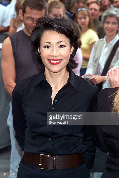 Ann Curry outside theToday Show at Rockefeller Center in New York City PhotoEvan Agostini/Getty Images