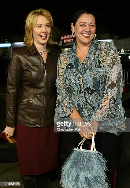 """Ann Cusack and Camryn Manheim during """"Gothika"""" World Premiere at Manns Village Theater in Los Angeles, California, United States."""