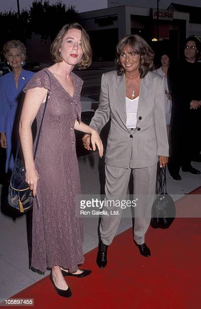 Ann Cusack and Penny Marshall during 'A League of Their Own' Los Angeles Premiere at Academy Theater in Beverly Hills California United States