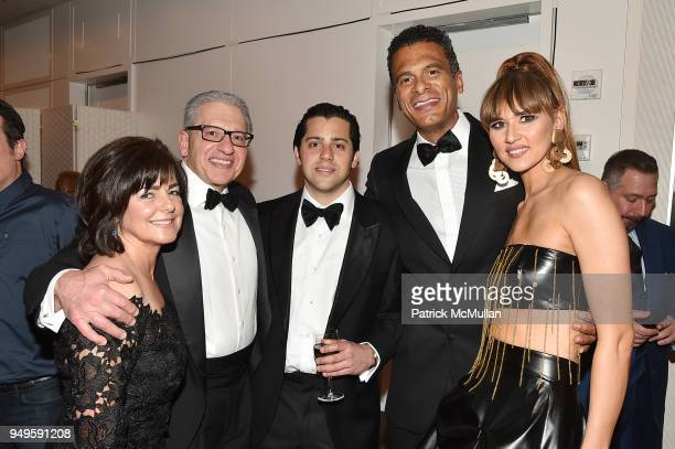 Ann D'Amelio Frank D'Amelio Joe D'Amelio John Utendahl and Radmila Lolly attend Opera and Couture Radmila Lolly at Carnegie Hall on April 20 2018 in...