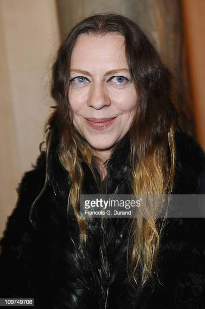 Ann Demeulemeester attends the Joyce Hong Kong 40th Anniversary Intimate Dinner Hosted By Keith Of Joyce Angelica Cheung at ShangriLa Hotel on March...