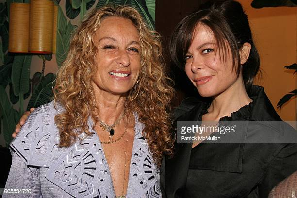 Ann Dexter Jones and Allison Sarofim attend Paper Magazine Luncheon to Honor Carine Roitfeld and Julia Restoin Roitfeld at Indochine on May 19, 2006...