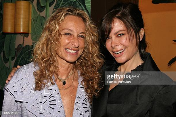 Ann Dexter Jones and Allison Sarofim attend Paper Magazine Luncheon to Honor Carine Roitfeld and Julia Restoin Roitfeld at Indochine on May 19 2006...