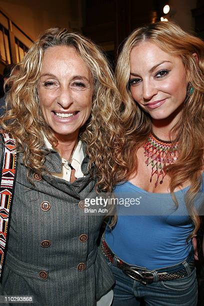 Ann DexterJones and Drea De Matteo during Olympus Fashion Week Spring 2007 Charlotte Ronson Front Row and Backstage at The Chemist's Club at the...