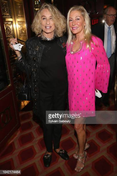 Ann DexterJones and Lisa Bytner attend David Patrick Columbia And Chris Meigher Toast The QUEST 400 At DOUBLES on September 27 2018 in New York City