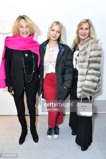 Ann DexterJones Annabelle DexterJones and Kim Vernon attend Rachel Lee Hovnanian 'The Women's Trilogy Project' Part 1 NDD Immersion Room at Leila...