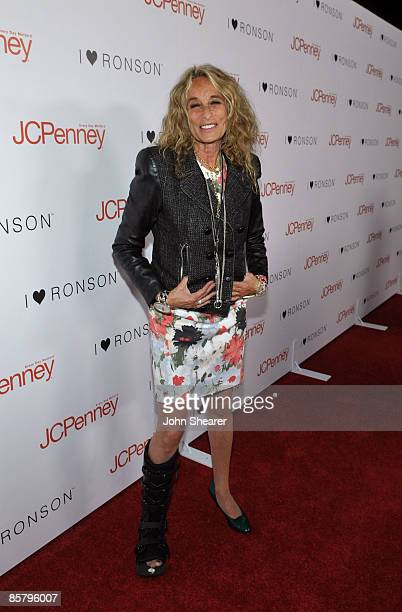 Ann DexterJones arrives at the I Heart Ronson launch party presented by Charlotte Ronson and JCPenney held at Bar Marmont on April 3 2009 in Los...