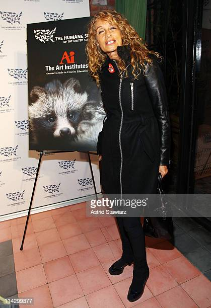 Ann Dexter-Jones attends The Humane Society of the United States & The Art Institute's Fifth Annual Cool vs. Cruel Awards Ceremomy at The Bowery...