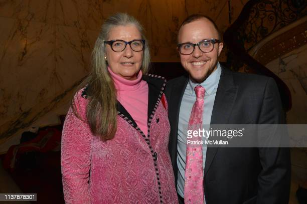 Ann Diamond and Emmett Findley attend The 16th Annual Authors In Kind Benefiting God's Love We Deliver at The Metropolitan Club on April 17 2019 in...