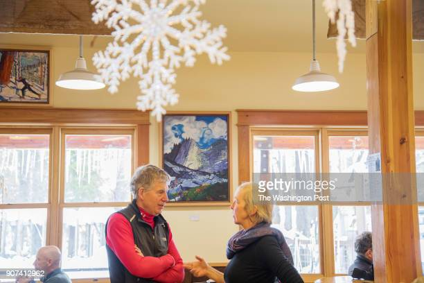 Ann Diamond right is running for Washingtons House of Representatives as an independent seeking the seat currently held by Rep Cary Condotta RChelan...