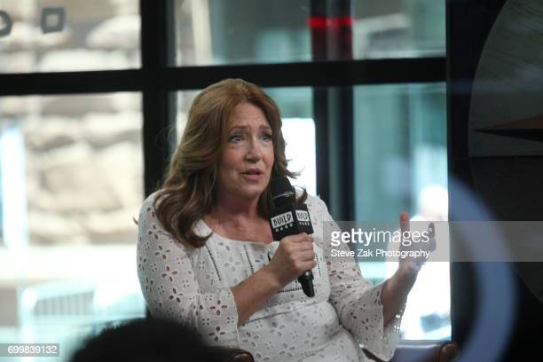 """Ann Dowd attends Build Series to discuss her roles in """"The Handmaid's Tale"""" & """"The Leftovers"""" at Build Studio on June 22, 2017 in New York City."""