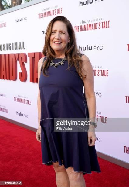 "Ann Dowd attends Hulu's ""The Handmaid's Tale"" season 3 finale at Regency Village Theatre on August 06, 2019 in Westwood, California."
