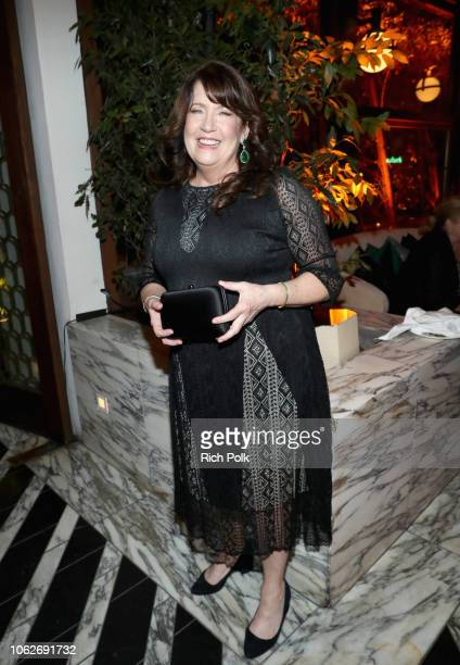 Ann Dowd attends the 2018 Hulu Holiday Party at Cecconi's Restaurant on November 16 2018 in Los Angeles California