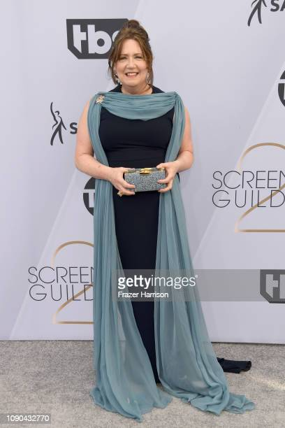 Ann Dowd attends the 25th Annual Screen ActorsGuild Awards at The Shrine Auditorium on January 27 2019 in Los Angeles California