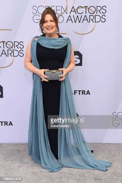 Ann Dowd attends the 25th Annual Screen ActorsGuild Awards at The Shrine Auditorium on January 27, 2019 in Los Angeles, California.