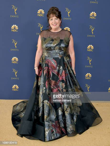 Ann Dowd attends the 70th Emmy Awards at Microsoft Theater on September 17 2018 in Los Angeles California