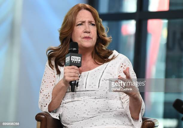 """Ann Dowd attends the Build Series to discuss 'The Handmaid's Tale"""" & """"The Leftovers' at Build Studio on June 22, 2017 in New York City."""