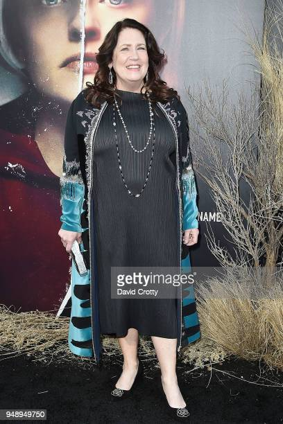 """Ann Dowd attends """"The Handmaid's Tale"""" Season 2 Premiere at TCL Chinese Theatre on April 19, 2018 in Hollywood, California."""